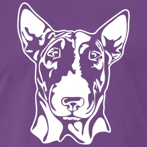 BULL TERRIER PORTRAIT - Men's Premium T-Shirt
