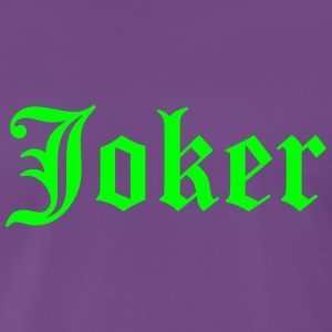 joker - Premium T-skjorte for menn