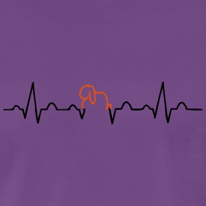 EKG Rabbit Aries - Premium-T-shirt herr