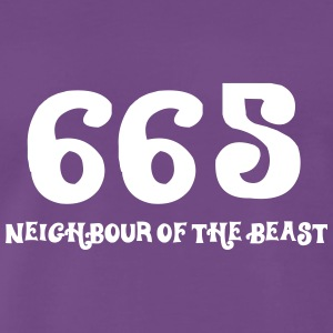 665: The Neighbor Of The Beast - Men's Premium T-Shirt