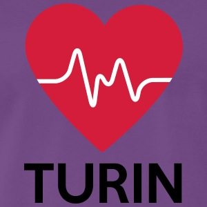 heart Turin - Men's Premium T-Shirt