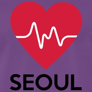 heart Seoul - Men's Premium T-Shirt