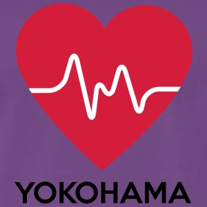 heart Yokohama - Men's Premium T-Shirt