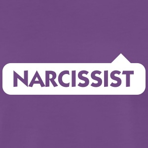 Narcissist! - Premium T-skjorte for menn