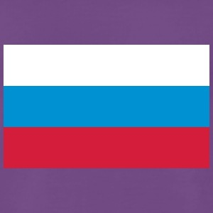 National Flag Of Russia - Herre premium T-shirt