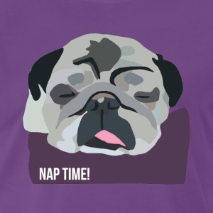 Sleepy Pug - Men's Premium T-Shirt