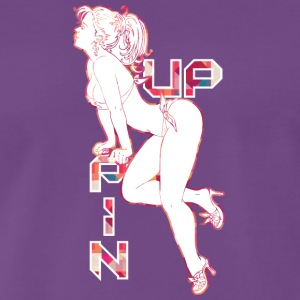 Pin Up fille sexy fesses - T-shirt Premium Homme