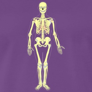 Skeleton also in the future - Men's Premium T-Shirt