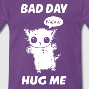 BAD DAY HUG ME - Herre premium T-shirt