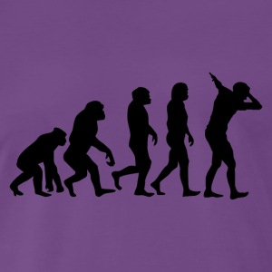 Evolution of dabb - Men's Premium T-Shirt