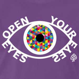 Formas - Open Your Eyes White - Camiseta premium hombre