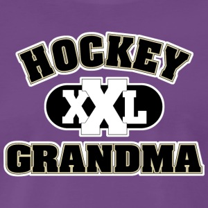 Hockey Grandma Grandmother - Men's Premium T-Shirt