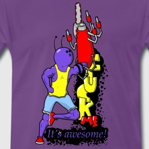 Fuck me! It's awesome! - Men's Premium T-Shirt
