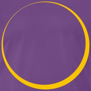 ECLIPSE - Yellow Sun - Männer Premium T-Shirt