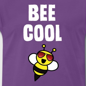 ++ ++ Bee Cool - Herre premium T-shirt