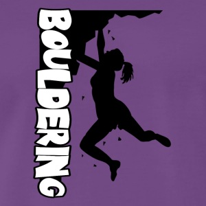 Boulder Print Women - Men's Premium T-Shirt