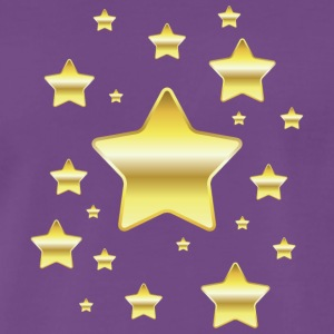 golden Star - T-shirt Premium Homme