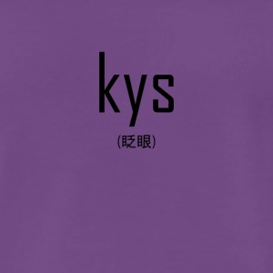 kys transparent - Men's Premium T-Shirt