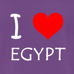 I Love Egypt - Premium T-skjorte for menn