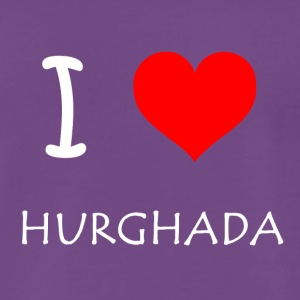 I Love Hurghada - Men's Premium T-Shirt
