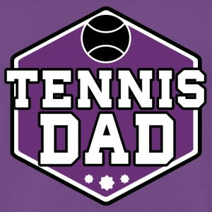 Tennis Dad - Herre premium T-shirt