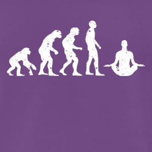 EVOLUTION BUDDHA! - Premium T-skjorte for menn
