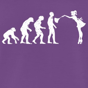 EVOLUTION HOUSEWIFE! - Herre premium T-shirt