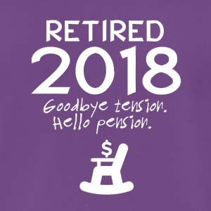 Retired 2018 - Men's Premium T-Shirt