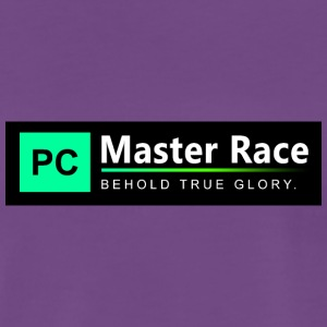 PC Master Race - Premium T-skjorte for menn