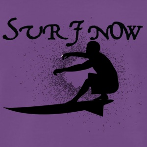 surf now 3 black - Men's Premium T-Shirt