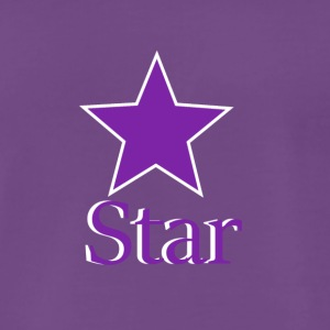 Purple Star - Männer Premium T-Shirt