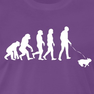 ++ ++ Hundeeiere Evolution - Premium T-skjorte for menn