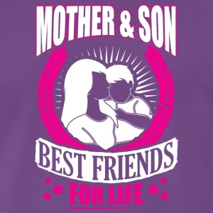 MOTHER AND SON BEST FRIENDS FOR LIFE - Men's Premium T-Shirt