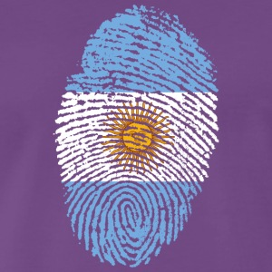 Fingerprint - Argentina - Men's Premium T-Shirt