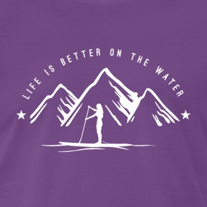 Mountain SUP - women - white - Männer Premium T-Shirt