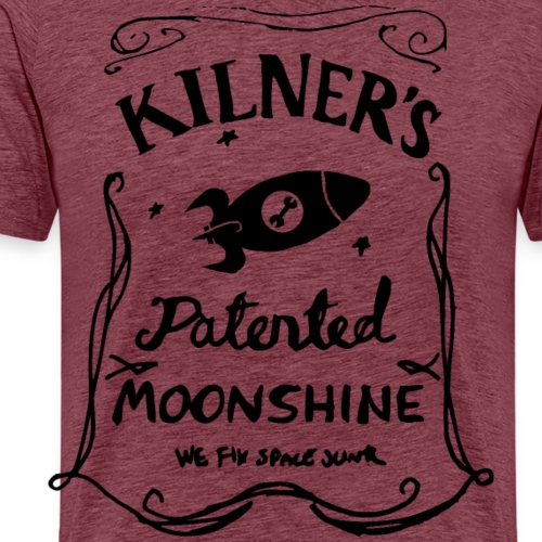 Kilner's Patented Moonshine (Black) - Men's Premium T-Shirt