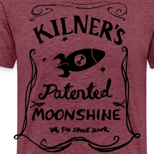 Kilner's Patented Moonshine (Black) - Men's Premium T-Shirt