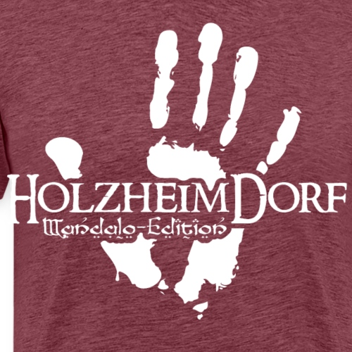 HolzheimDorf - Mandalo-Edition Uruk Hai - Männer Premium T-Shirt