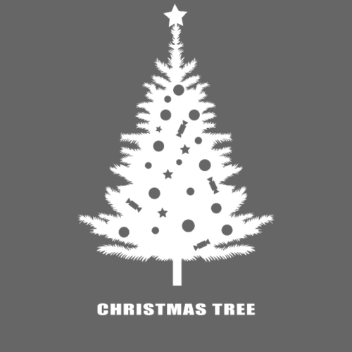 christmas tree, christmas, new year, rockefeller - Men's Premium T-Shirt