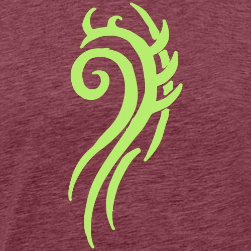 Tattoo Design Tribals Wirbel Symbol Geschenk Cool - Männer Premium T-Shirt