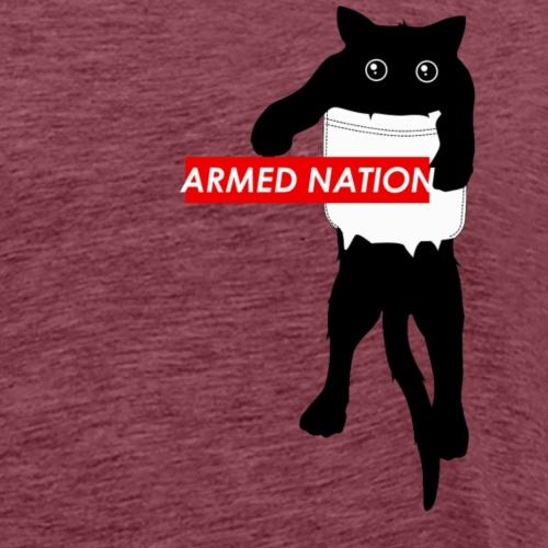 ARMED NATION CAT - Männer Premium T-Shirt