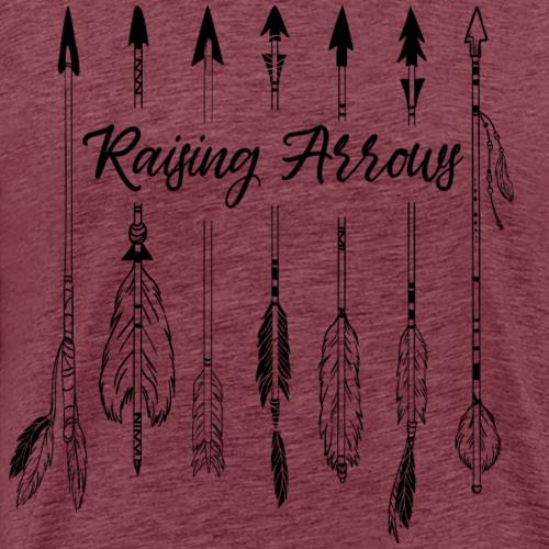 Raising Arrows - Männer Premium T-Shirt