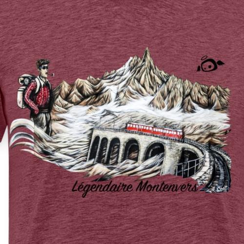 Legendaire Montenvers - T-shirt Premium Homme