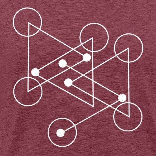 Geometrische Formen - Männer Premium T-Shirt