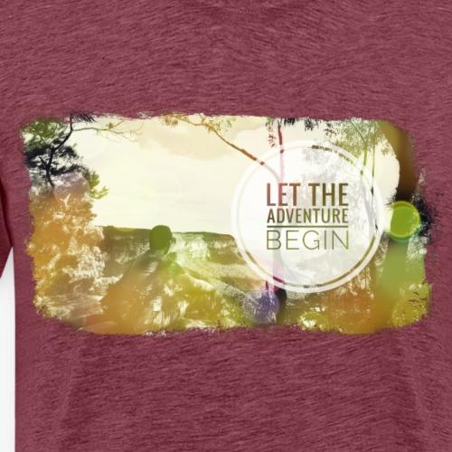 Let the Adventure Begin - Männer Premium T-Shirt