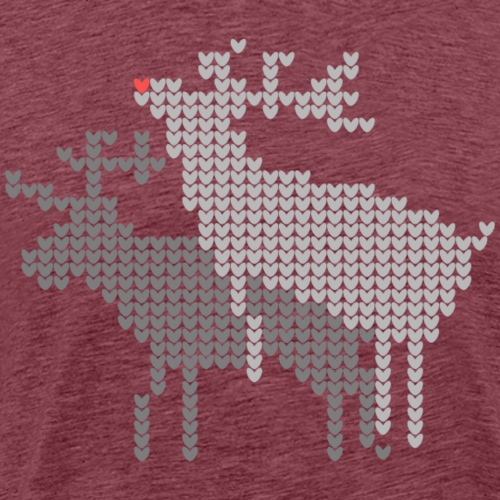 Gay reindeers - Men's Premium T-Shirt