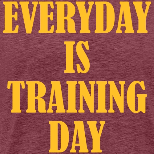 Everyday is Training Day, Training, Fitness, Sport - Männer Premium T-Shirt