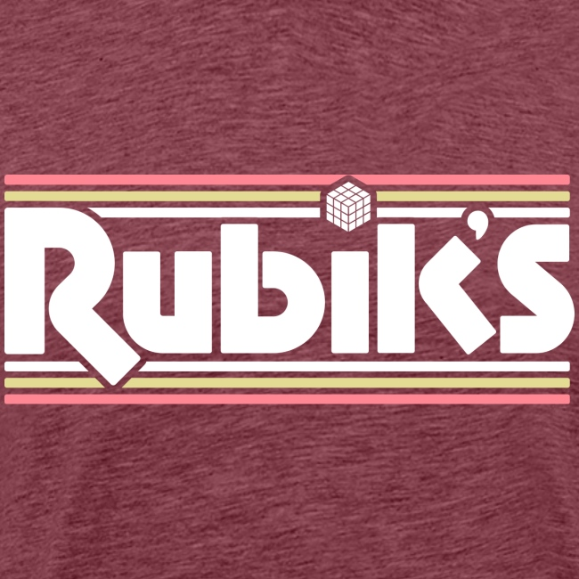 Rubik's Cube Retro Logo