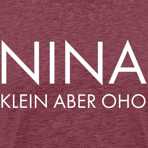 Nina White - Männer Premium T-Shirt