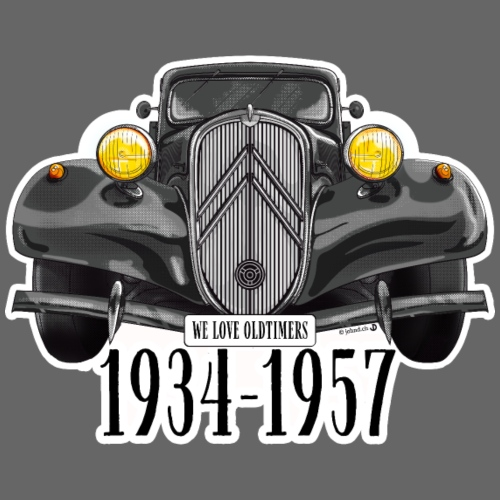 WE LOVE OLDTIMERS 1934-1957 - Männer Premium T-Shirt